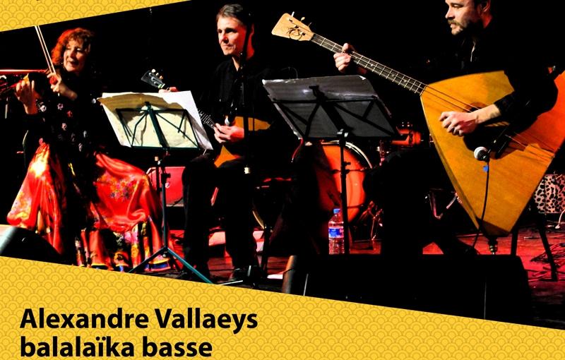 Victor Korsakoff revient joueravec le trio le 13 novembre2015