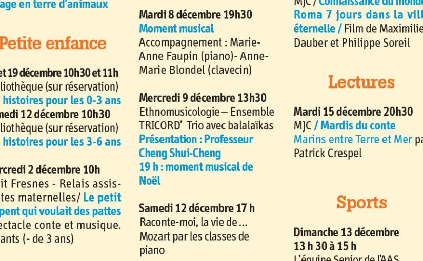 Au conservatoire de Fresnes le 9 décembre2015